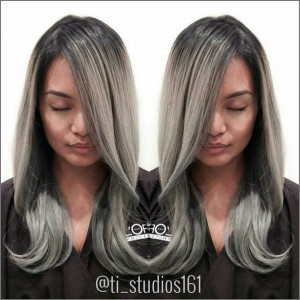 Welcome Jihannah to the team. Look at this Beautiful Titanium Grey!! Hair by @jihannah.co  Located at @ti_studios161