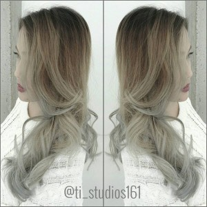 Ombre to silver!  Hair by @houseofgen Located at @ti_studios161